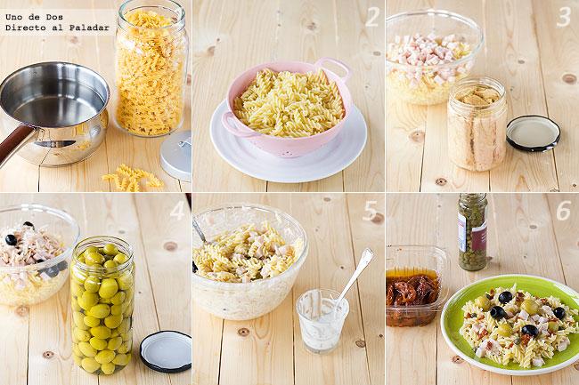 Ideas para cocinar en verano yolanda for Ideas para cocinar pasta