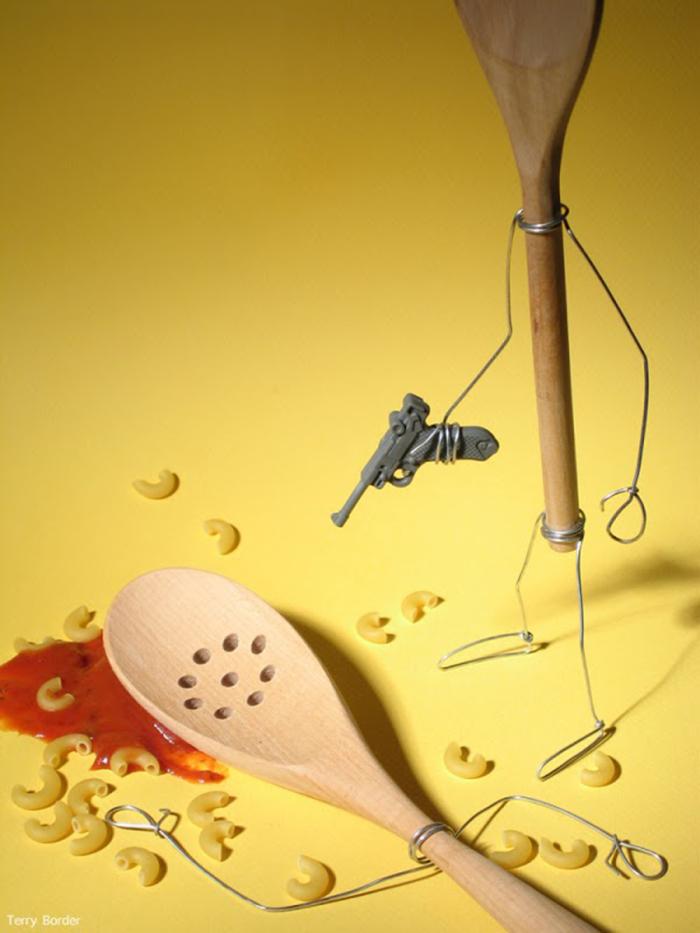 fotografías divertidas de comida