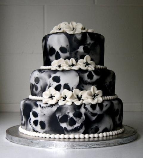 pastel gótico
