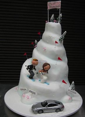 pastel de bodas original