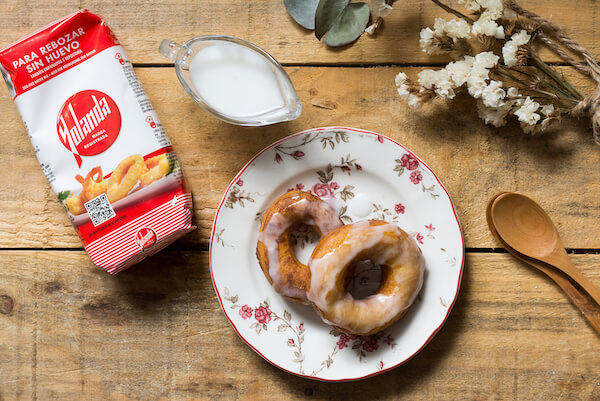 Donas o donuts sin huevo
