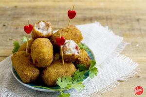 croquetas de jamon sin huevo