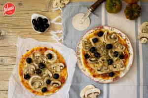 pizza sin huevo con harina Yolanda