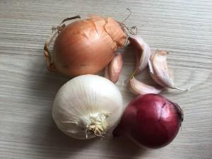 Cebolla y ajo
