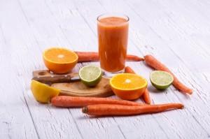 Smoothie de naranja y zanahoria