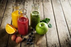 Smoothie de frutas y verduras