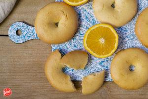 Rollos de Pascua con naranja