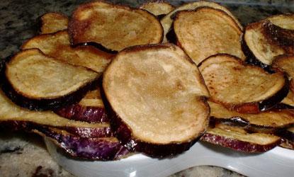 Chips de Berenjenas