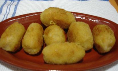 Croquetas de Patata y Bonito