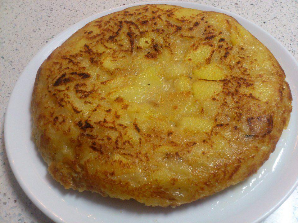 Tortilla de patatas a lo Yolanda