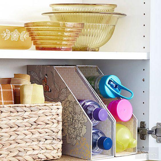 4 formas útiles y sencillas de organizar tu cocina