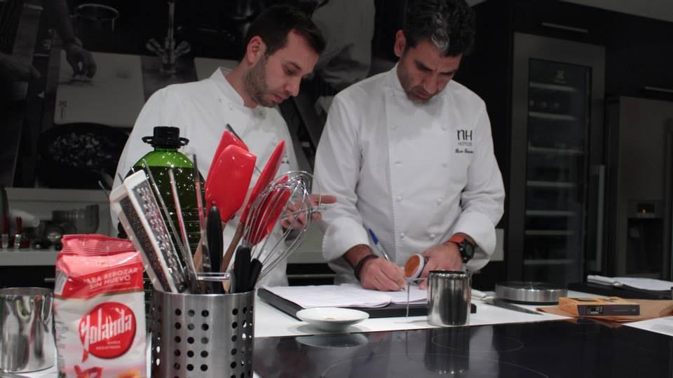 Así fue el Show Cooking de Yolanda y Paco Roncero