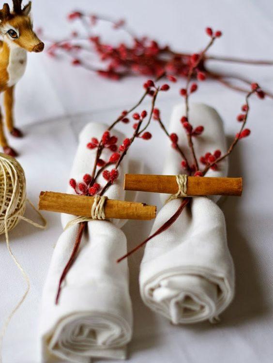 Ideas para preparar tu mesa de Navidad