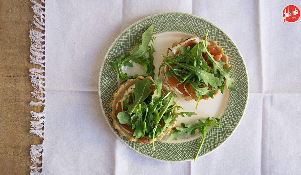 Tartaletas de salmón