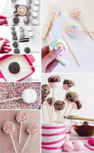 Mesa dulce con cakepop