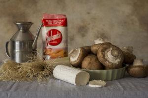 empanadillas champiñón y queso de cabra