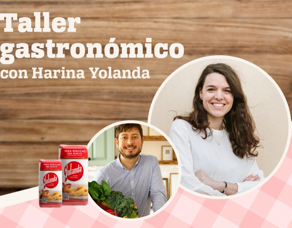 Taller de cocina con Harina Yolanda en Murcia
