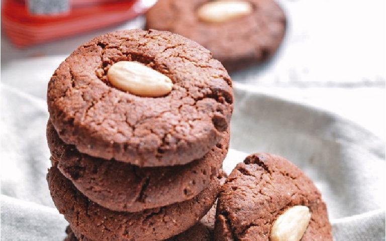galletas de chocolate sin huevo con Harina Yolanda