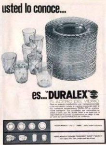 Vajilla duralex años 80