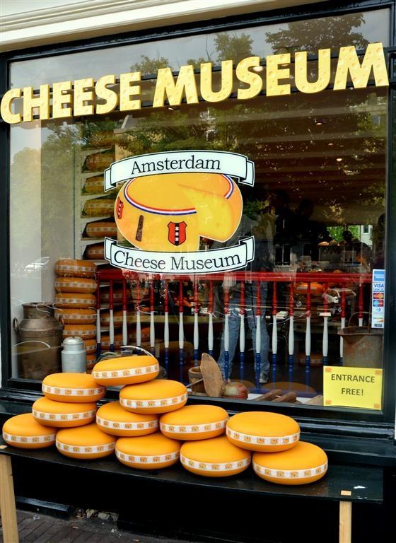 museo del queso de Amsterdam
