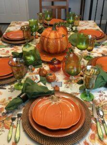 ideas mesa de halloween