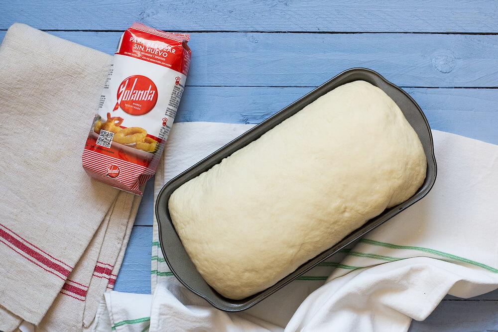 pan de molde con Harina Yolanda